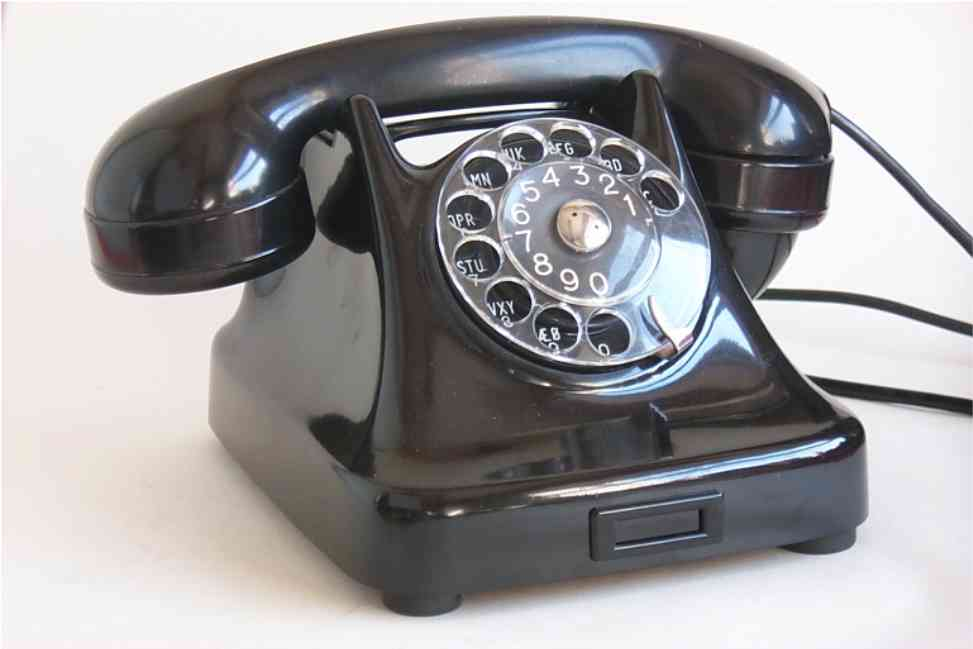 Telephone 1950 This telephone was made by