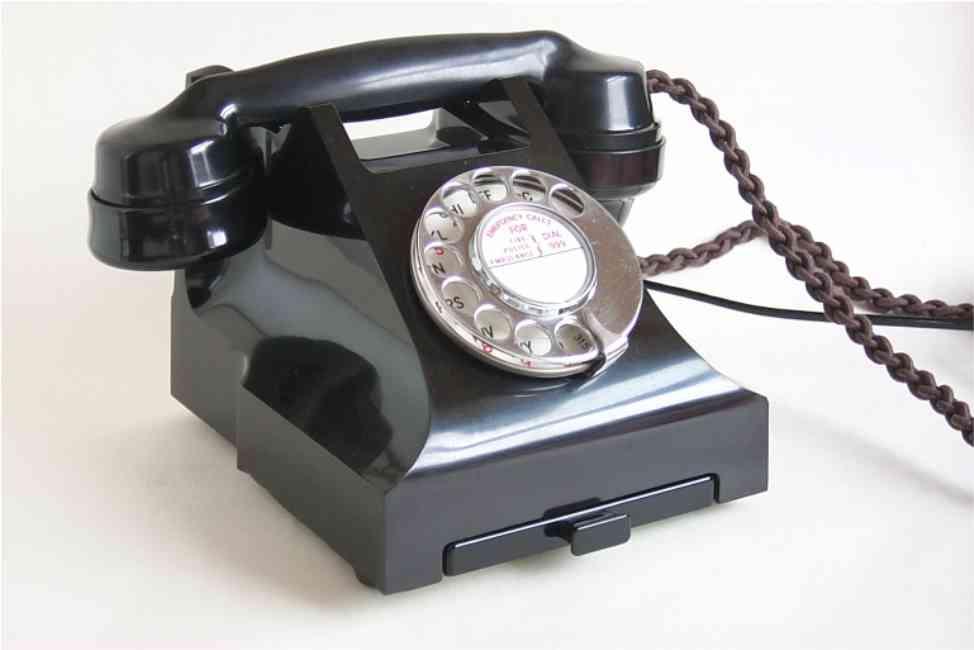 telephones page